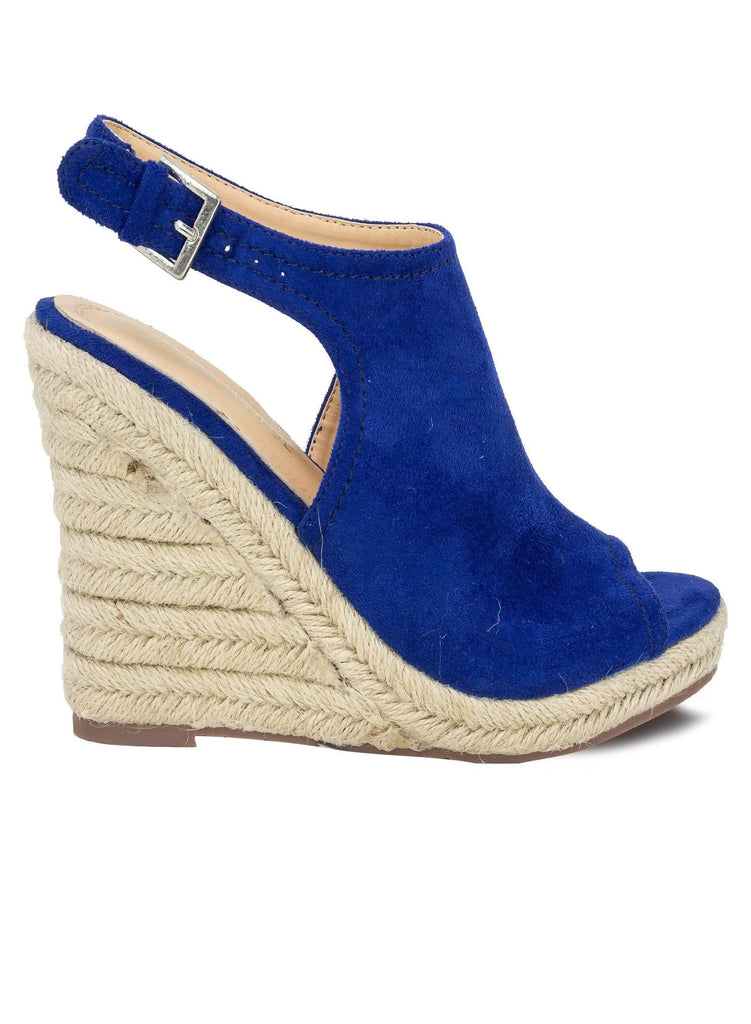 """TIFFANY"" - WOMEN'S ESPADRILLE ANKLE STRAP WEDGES - Lala Shoes"