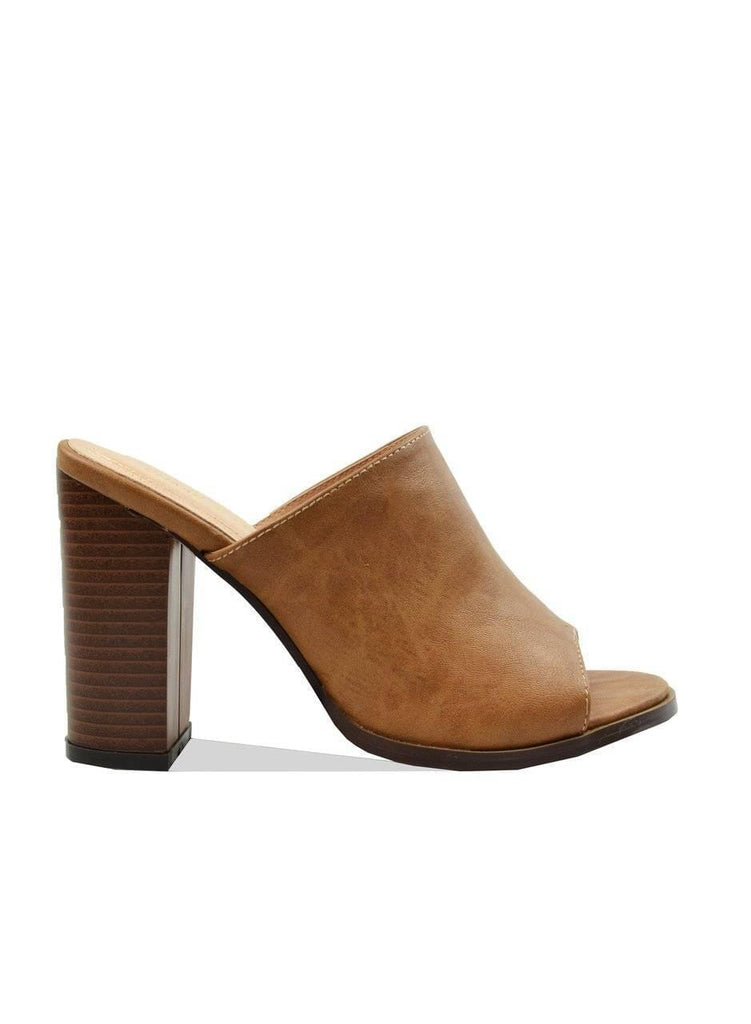 """SLIP IN OR GET OUT""-MULE HEEL - Lala Shoes"