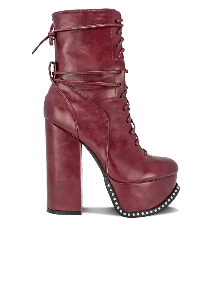 """DARCIE BONE"" - WOMEN'S BOOT - Lala Shoes"