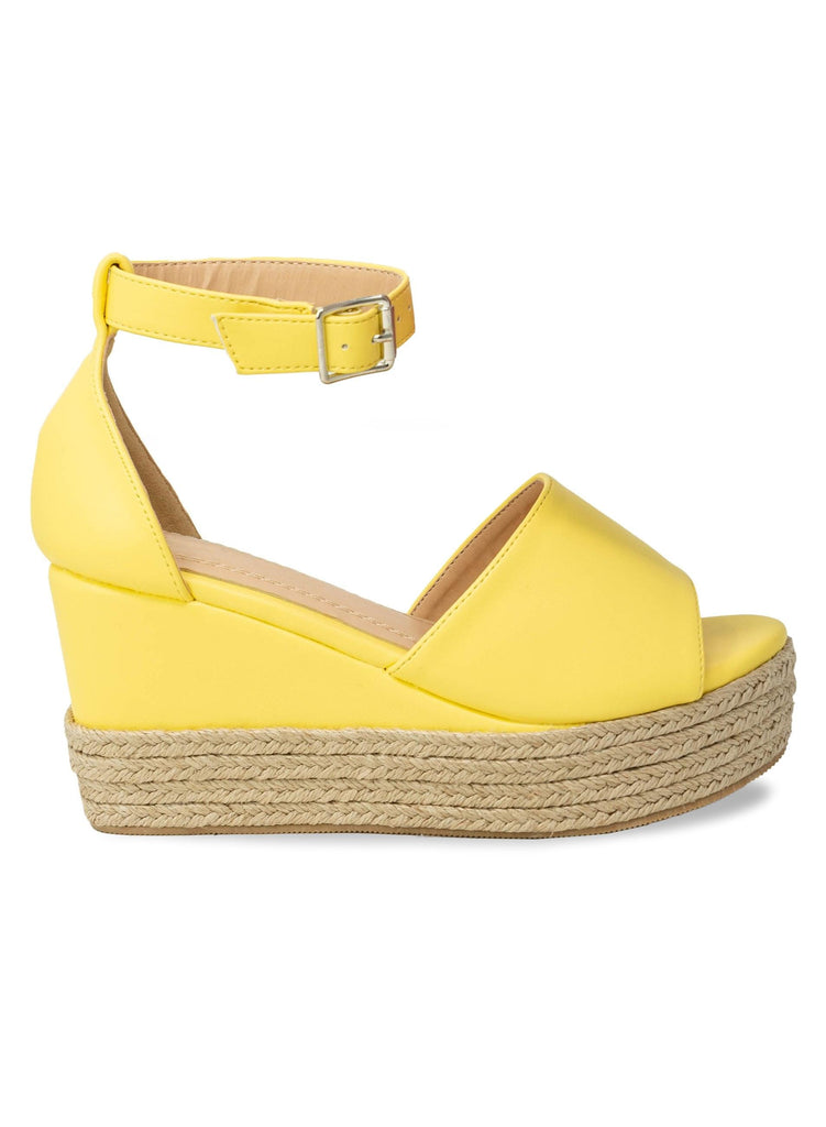 """BRITTANY"" - ESPADRILLE WEDGE - Lala Shoes"