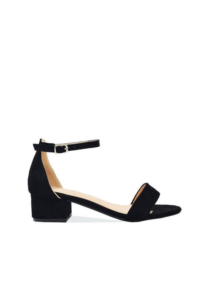 """AUDREY"" ANKLE STRAP PUMP - Lala Shoes"