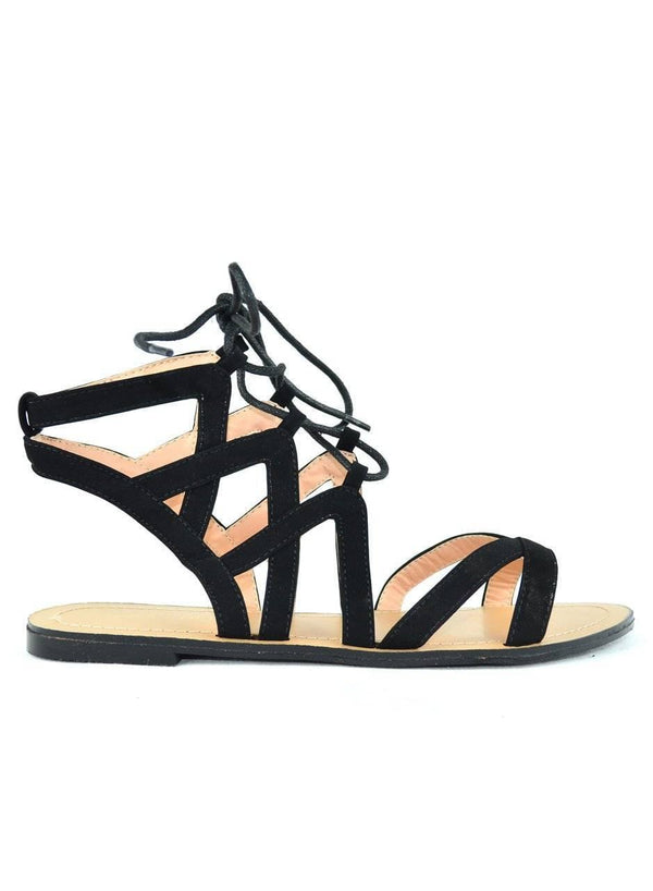 """BEAUTIFUL FOR HIRE"" - FLAT SANDALS"