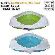 MPETS - Cairo Cat Litter with Rim