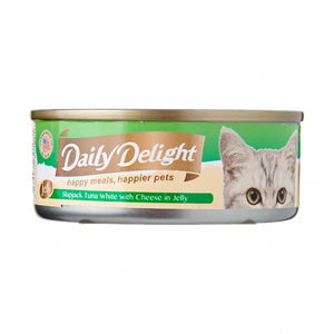 Daily Delight - Skipjack Tuna White with Cheese in Jelly