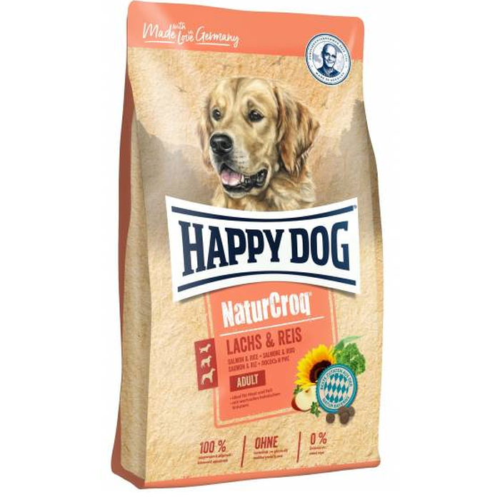 Happy Dog - NaturCroq Salmon and Rice for Adult