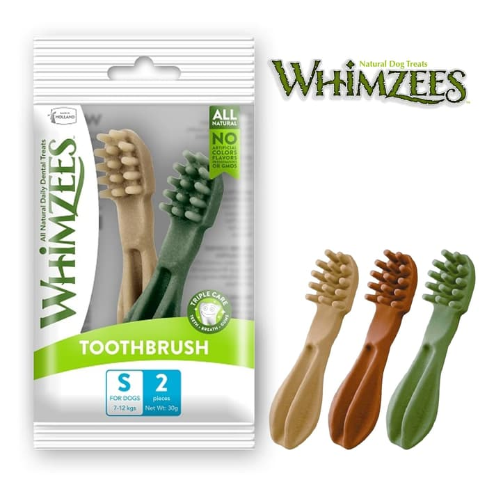 Whimzees - Toothbrush Chew Small