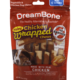 DreamBones - Chicken Wrapped Chews Mini