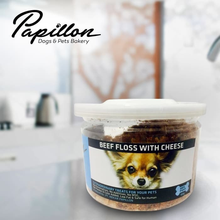 Papillon - Beef Floss with Cheese