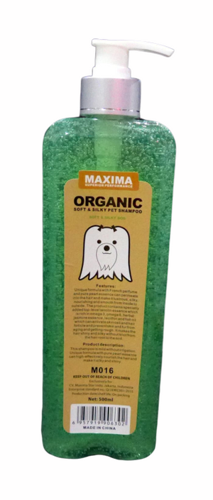 Maxima Organic - Soft and Silky Dog Shampoo