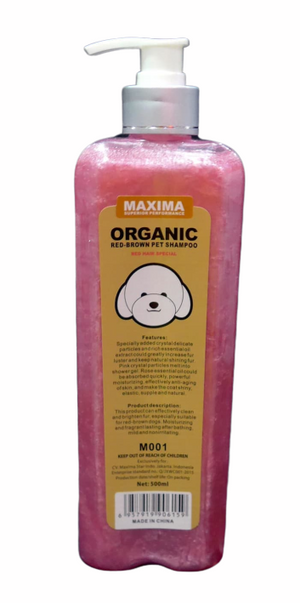 Maxima Organic - Red-Brown Dog Shampoo