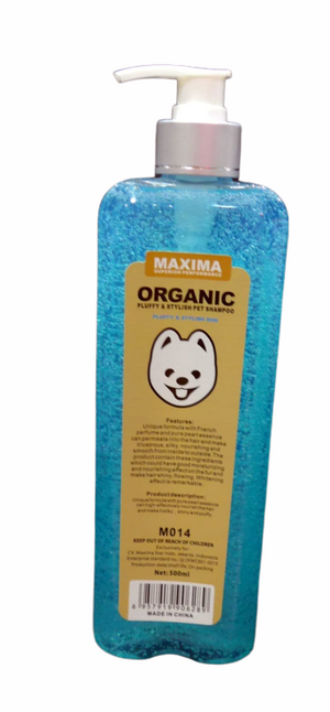 Maxima Organic - Pluffy and Stylish Dog Shampoo