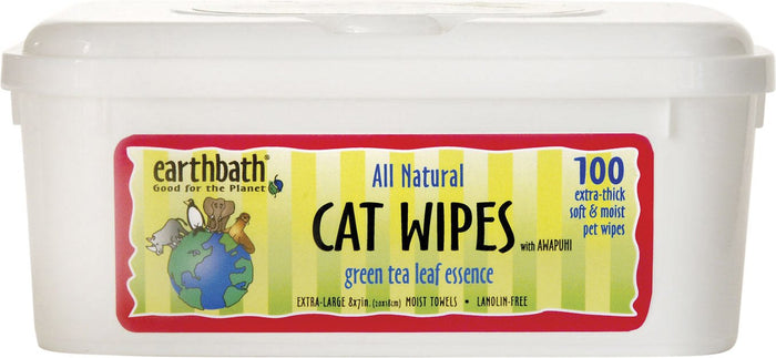 Earthbath - Hypoallergenic Cat Wipes