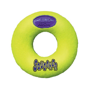 KONG - AirDog Squeaker Donut Toy