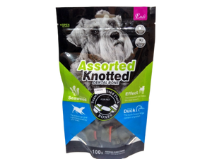 Endi - Assorted Knotted Dental Bone Treats for Dogs