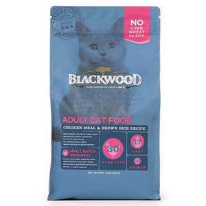 Blackwood - Adult Cat Food Chicken Meal and Brown Rice Recipe