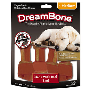 DreamBone - Beef Classic Bone Chew Medium