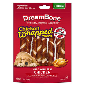DreamBones - Chicken Wrapped Chews Regular