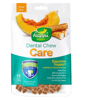 Happi Doggy - Dental Chew Care Digestive Support