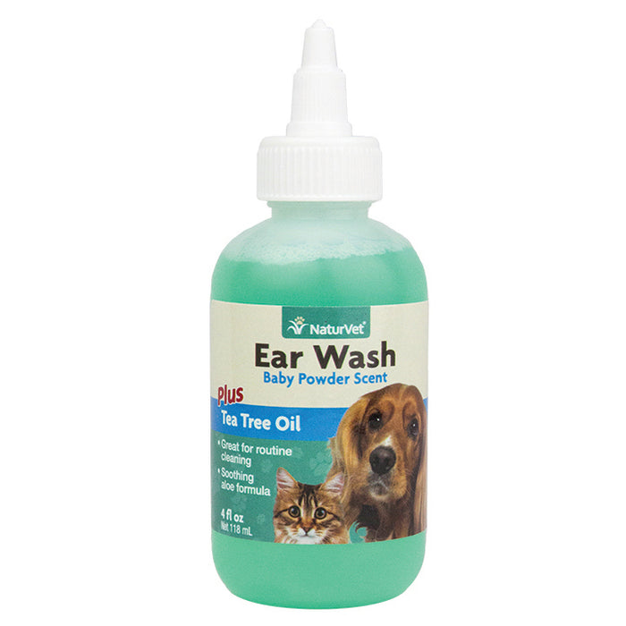 NaturVet - Ear Wash Liquid