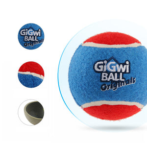 GiGwi Mainan Anjing - Tennis Ball 3 Pcs With Diffrent Colour Large