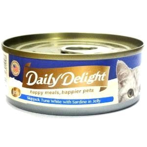 Daily Delight - Skipjack Tuna White with Sardine in Jelly