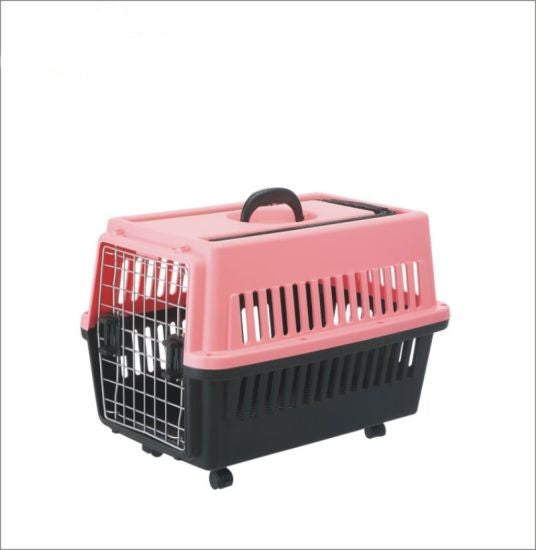 PETKU - Pet Carrier with Wheel and Handle