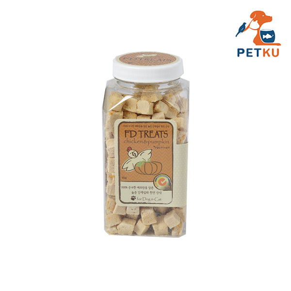 FD Treats - Freeze Dried Chicken With Pumpkin Cube