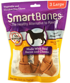 SmartBones - Bacon and Cheese Classic Bone Chew Large