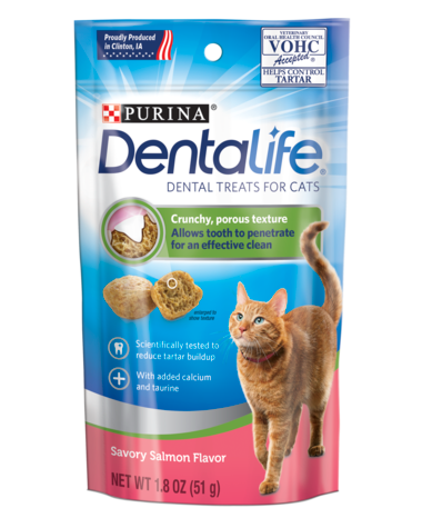 Purina - DentaLife Salmon Cat Treats
