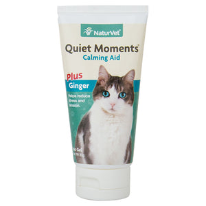 NaturVet - Quiet Moments Cat Calming Gel