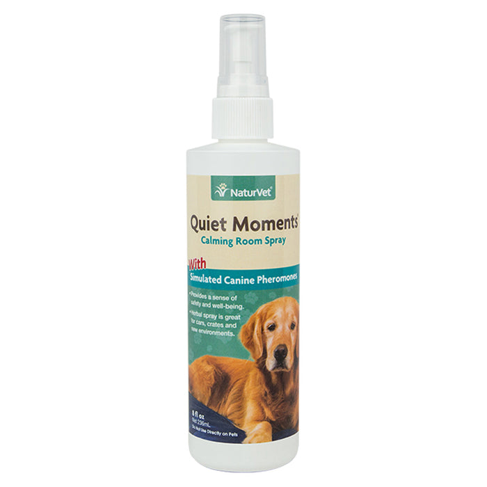 NaturVet - Quiet Moments Herbal Calming Spray for Canine