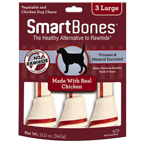 SmartBones - Chicken Classic Bone Chew Large