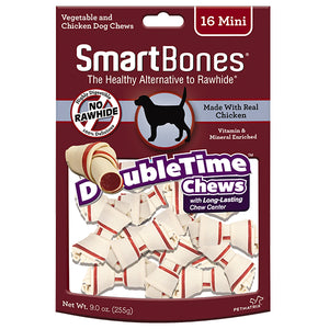 SmartBones - Chicken DoubleTime Bone Chew Mini