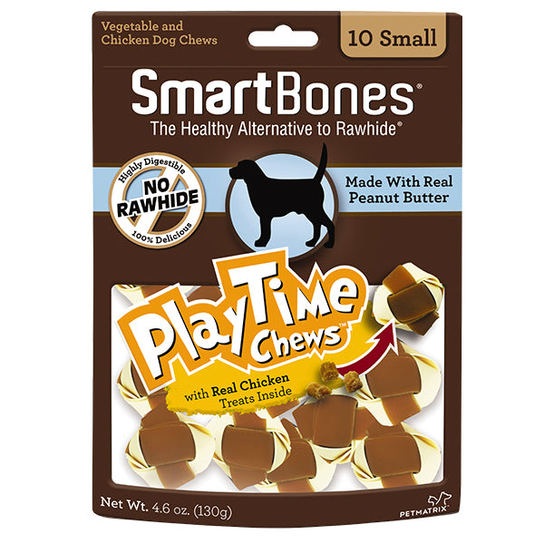 SmartBones - Peanut Butter PlayTime Chew Small