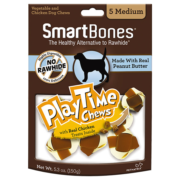 SmartBones - Peanut Butter PlayTime Chew Medium