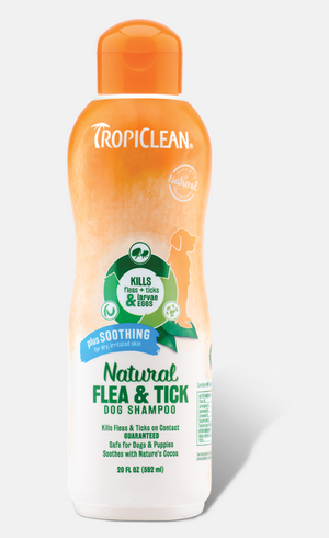 Tropiclean - Flea and Tick Shampoo