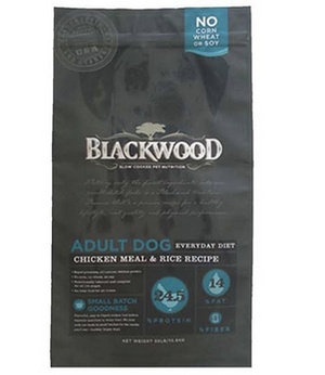 Blackwood - Adult Dog Diet Food Chicken Meal and Rice Recipe