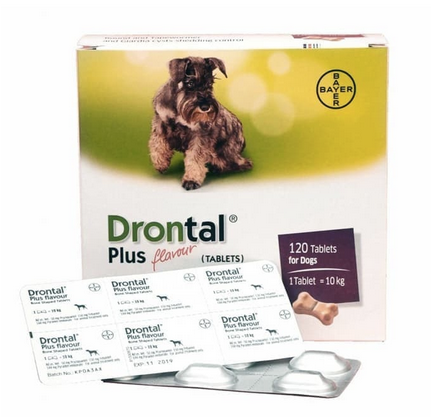 Drontal Dog - Dewormer