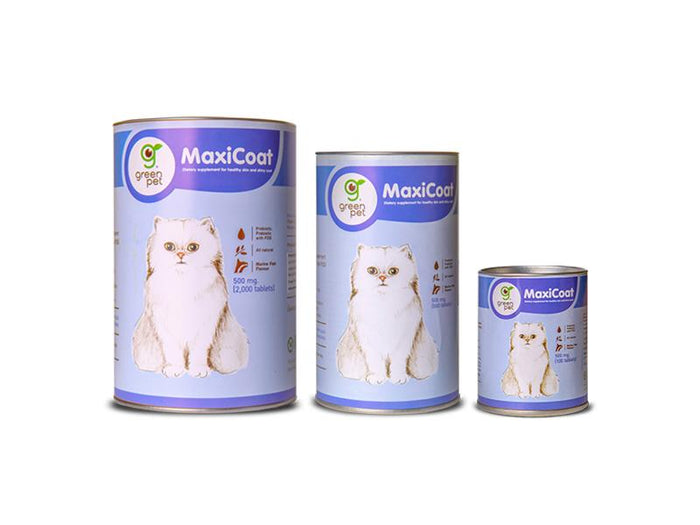 MaxiCoat for Cats- Skin Supplement