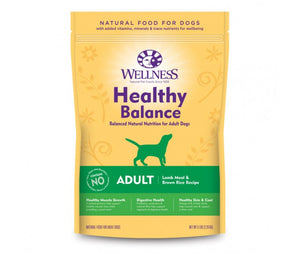 Wellness - Healty Balance Adult Lamb Meal & Browm