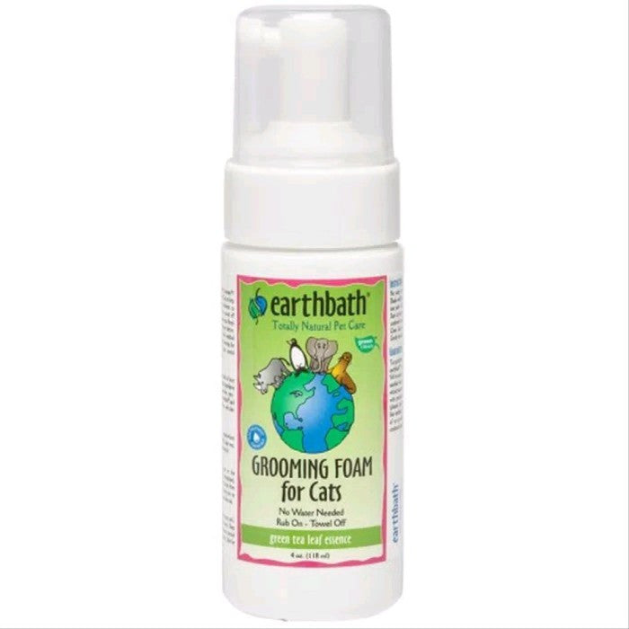 Earthbath Green Tea Grooming Cat Foam