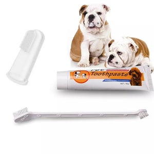 PETKU - Pet Toothbrush Set