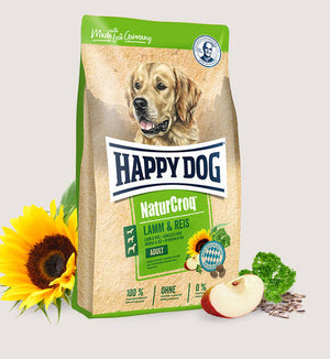 Happy Dog - NaturCroq Lamb and Rice for Adult