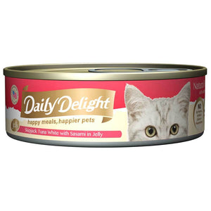 Daily Delight - Skipjack Tuna White with Sasami in Jelly