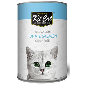 Kit Cat - Premium Tuna Salmon Canned Food