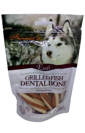 Endi - Grilled Dental Twists Treats for Dogs