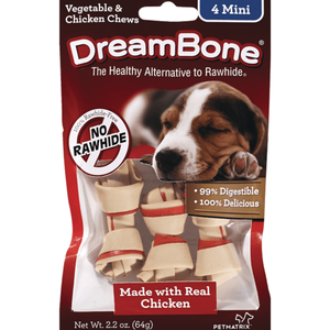 DreamBone - Chicken Classic Bone Chew Mini