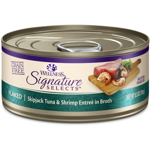 Wellness - Core Signature Selects Flaked Skipjack Tuna and Shrimp