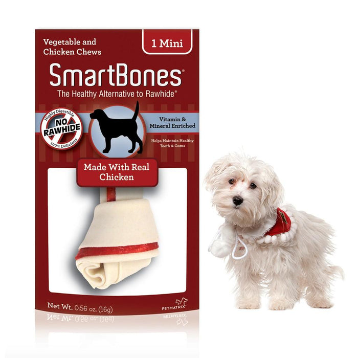SmartBones - Chicken Classic Bone Chew Mini