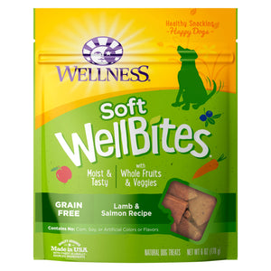 Wellness- Wellbites Lamb & Salmon Soft